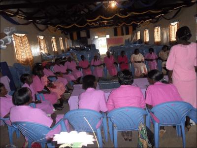 Sabatia WORTH Group during a savings session